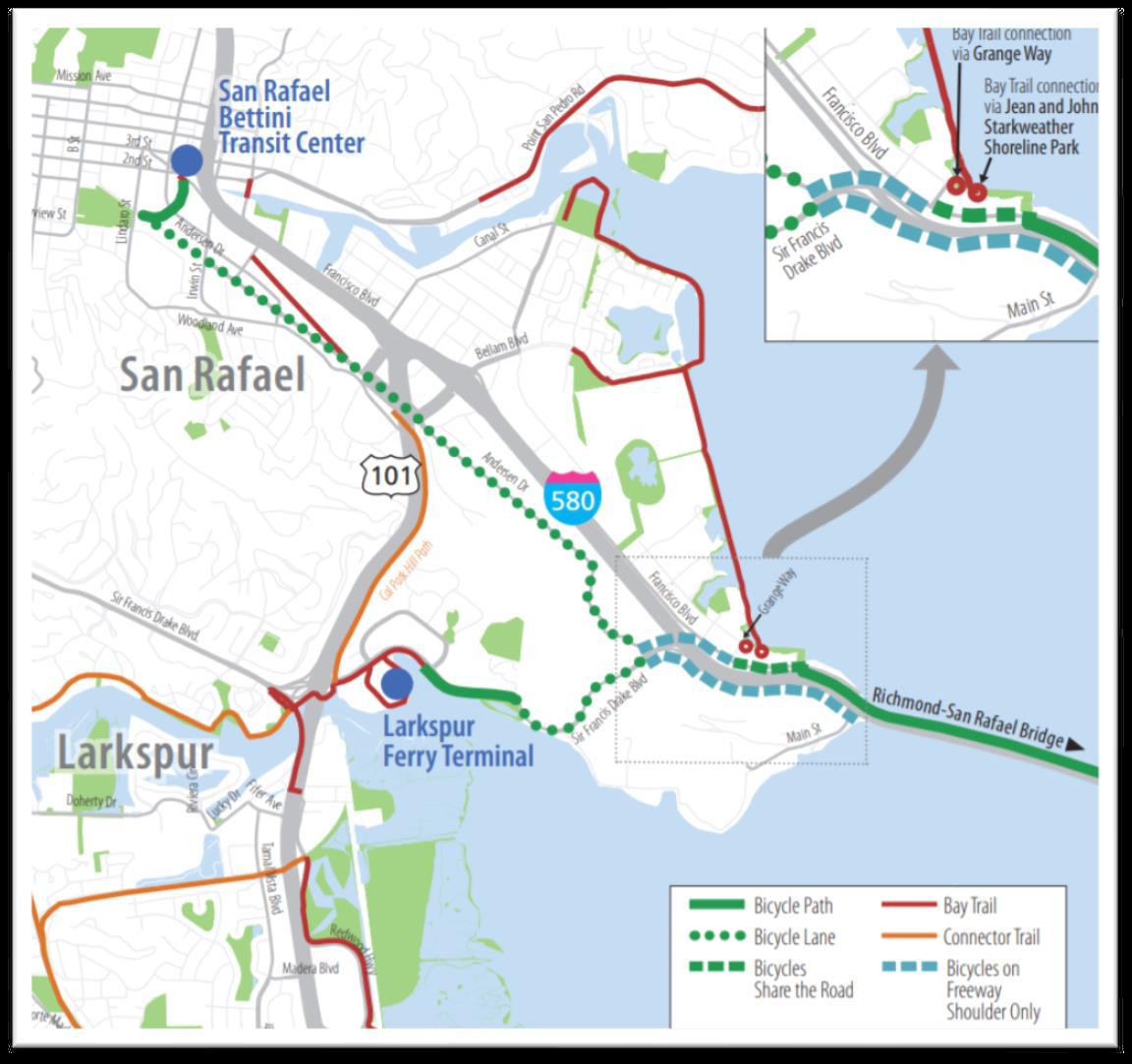 Richmond-San Rafael Bridge Bike_Ped Path