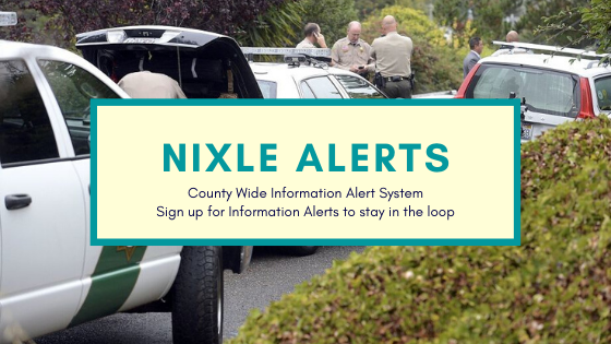 Link to Sign Up Fore Nixle Alerts