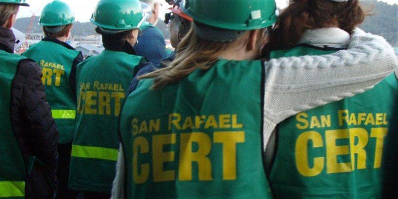 San Rafael Cert Quarterly Meeting Training San Rafael