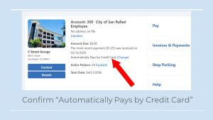 Automatically Pays by CC