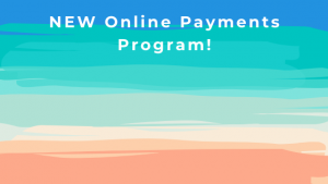 Online payments banner