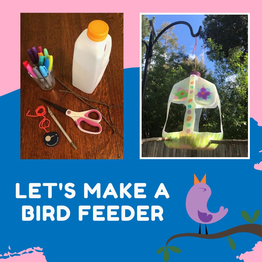 Let's make a bird feeder