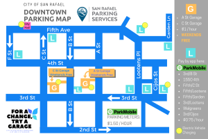 Downtown Parking Map For a Change