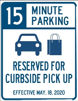 Curbside Parking Sign