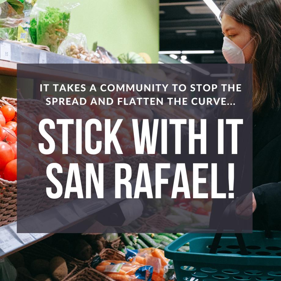Stick with it San Rafael