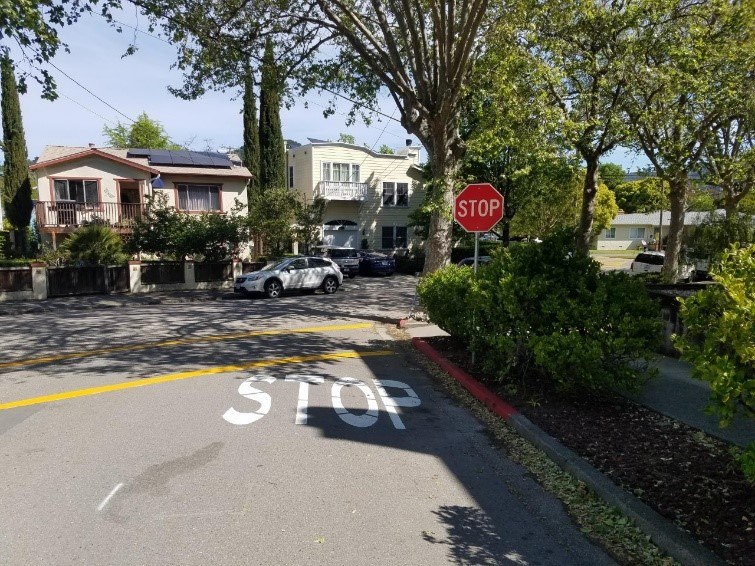 New Stop Signs Installed