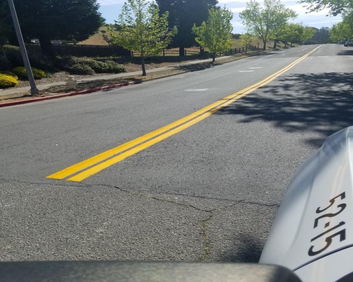 Street Paint Markings