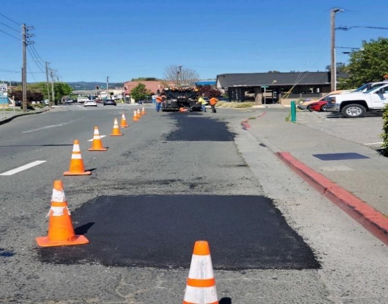 Third Street Paving Work
