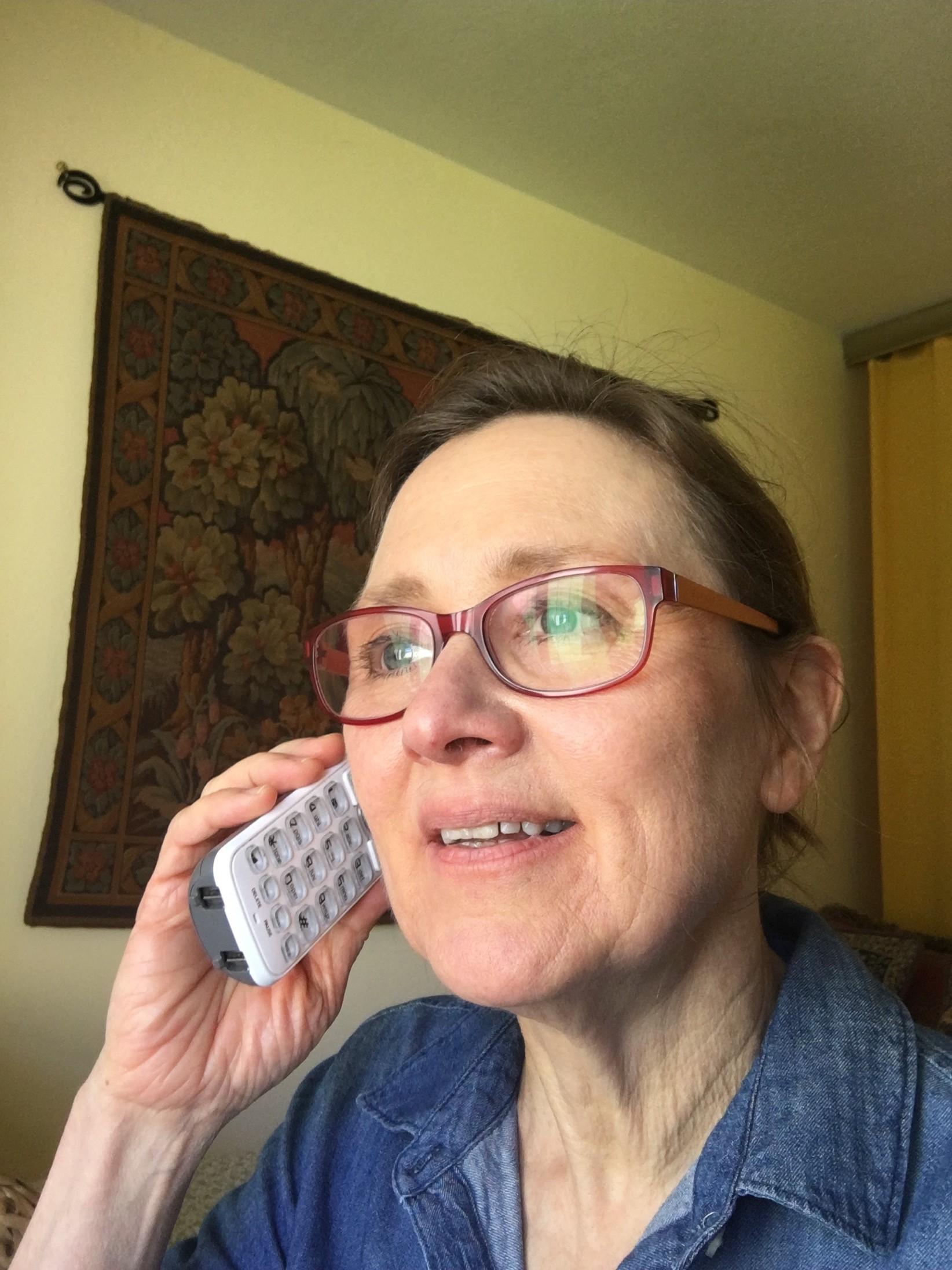 Margaret Calling Older Adults