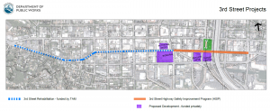 3rd St Project Limits