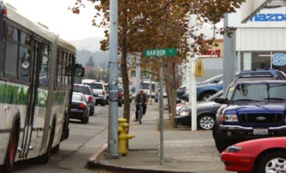francisco blvd east sidewalk