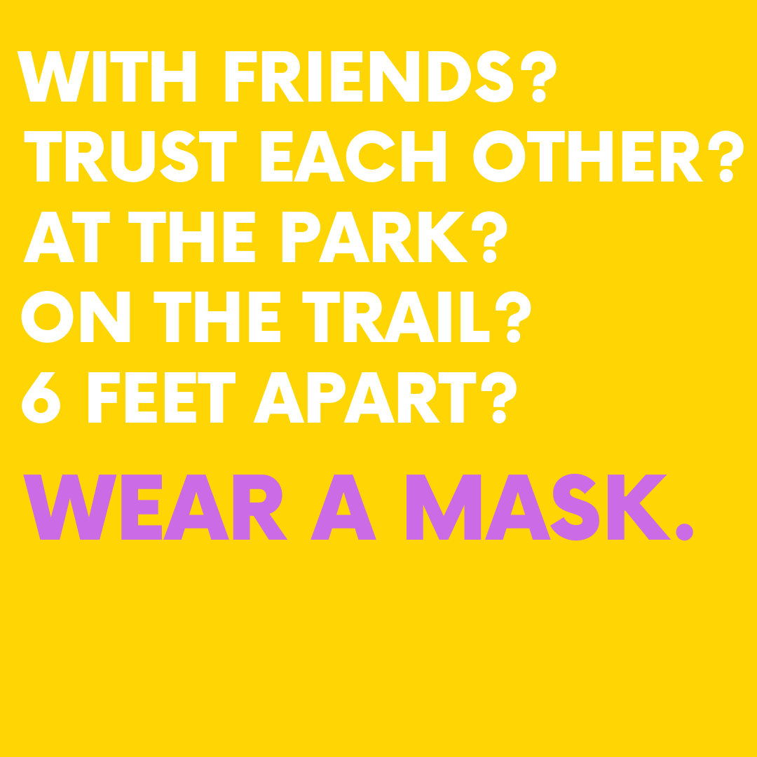 just wear your mask