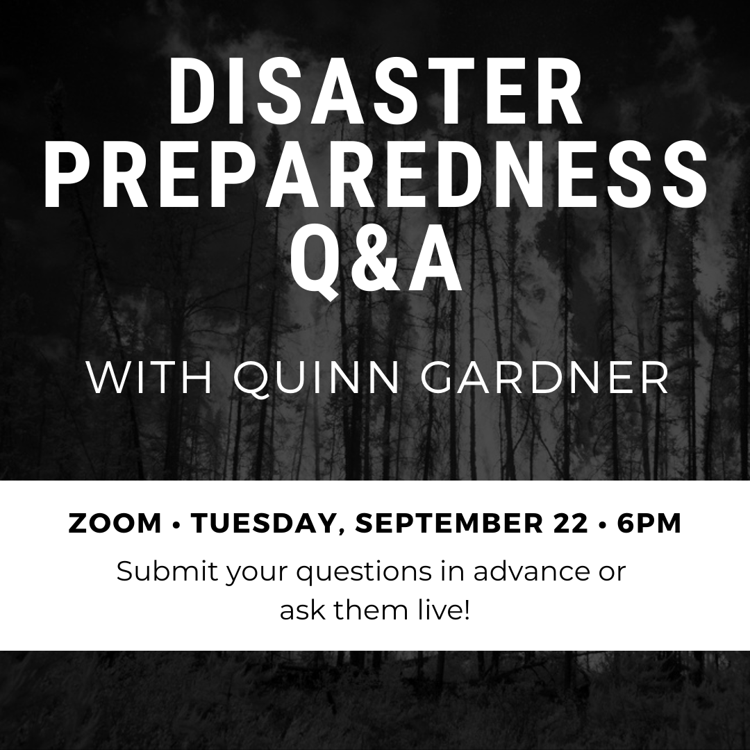 Disaster Q&A