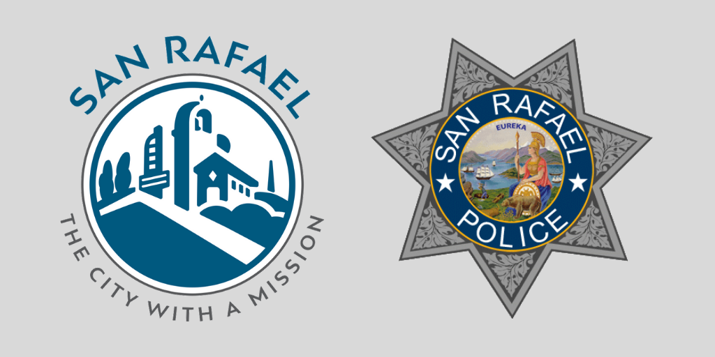 City and San Rafael Police logos
