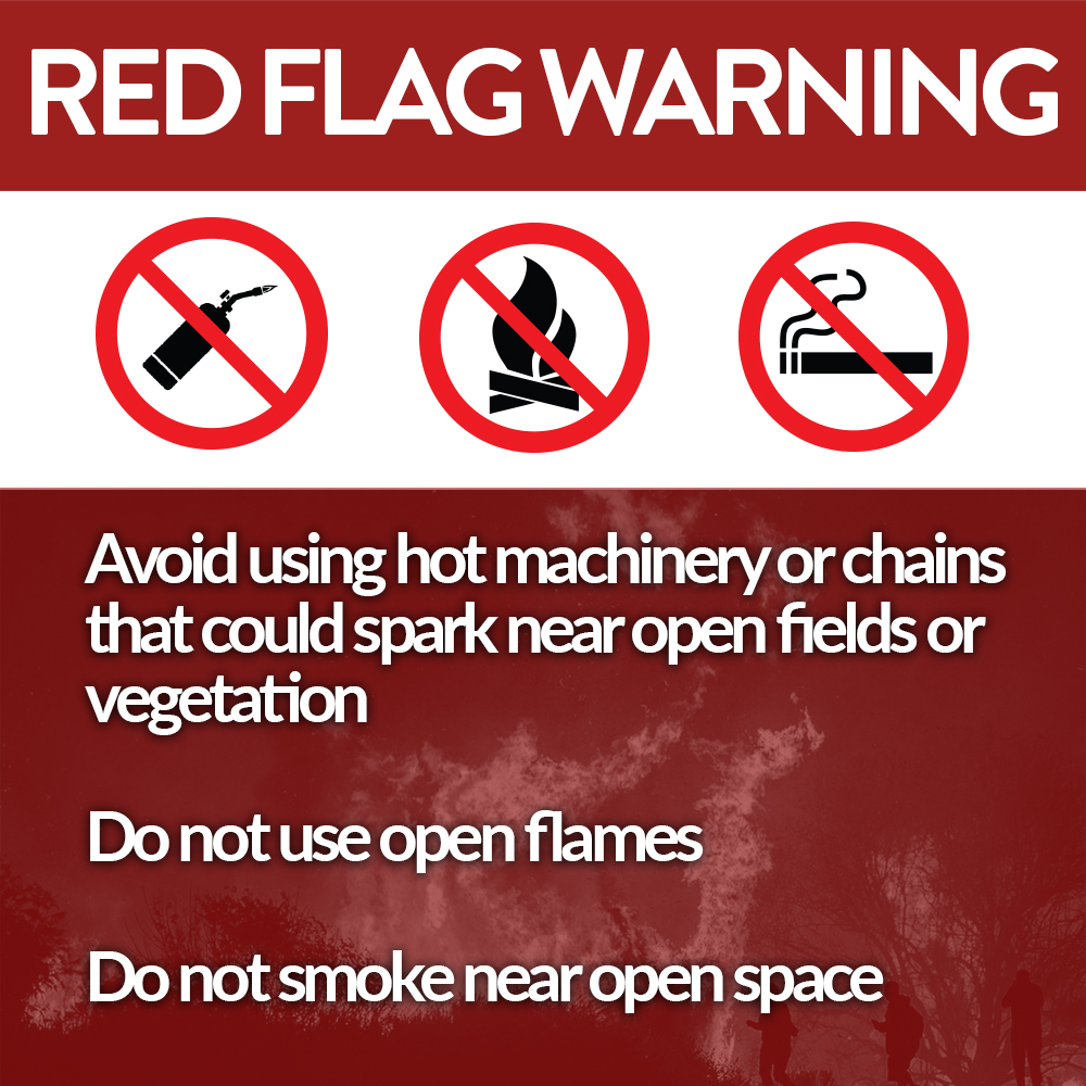Red Flag Warning Image