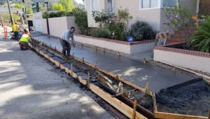 encroachment permit active construction