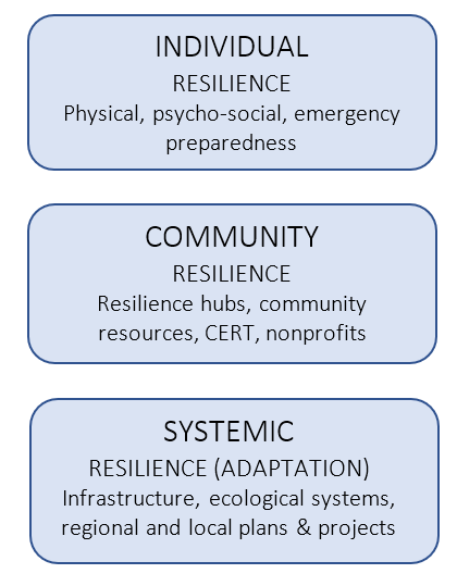 Types of Resilience Chart