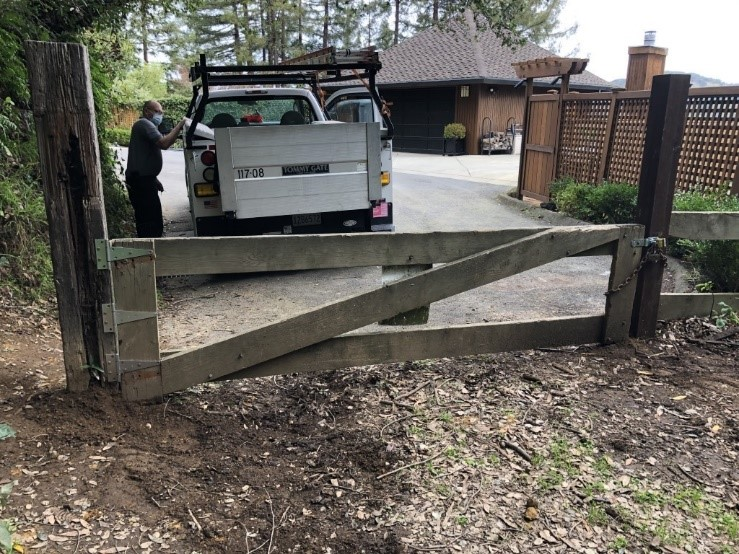 Makin Grade gate repair