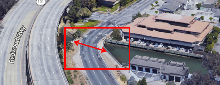 Central SRF off ramp bridge replacement