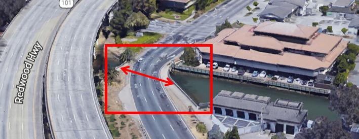 Central SRF off ramp bridge replacement