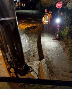 MTF Pkwy and Redwood Hwy street repair 2