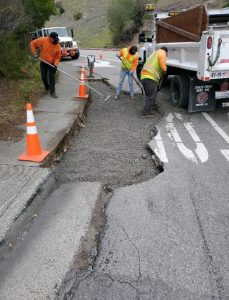MTF Pkwy and Redwood Hwy street repair 3