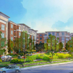 Northgate proposed housing rendering