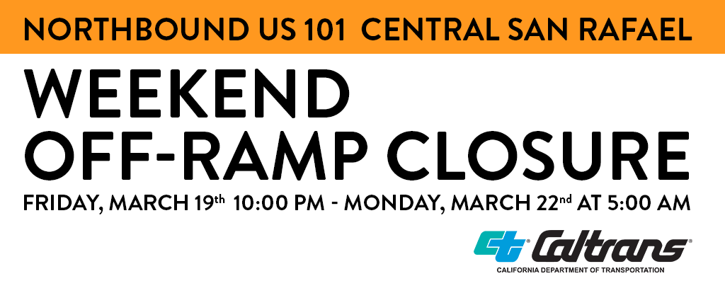 US101 NB Ramp Closure