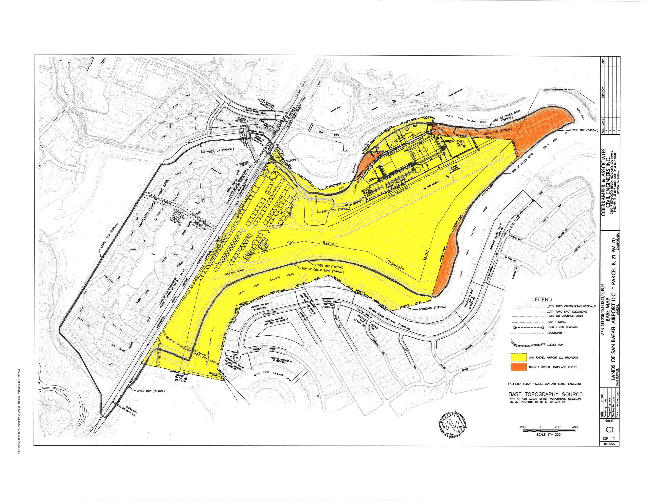 airport site map