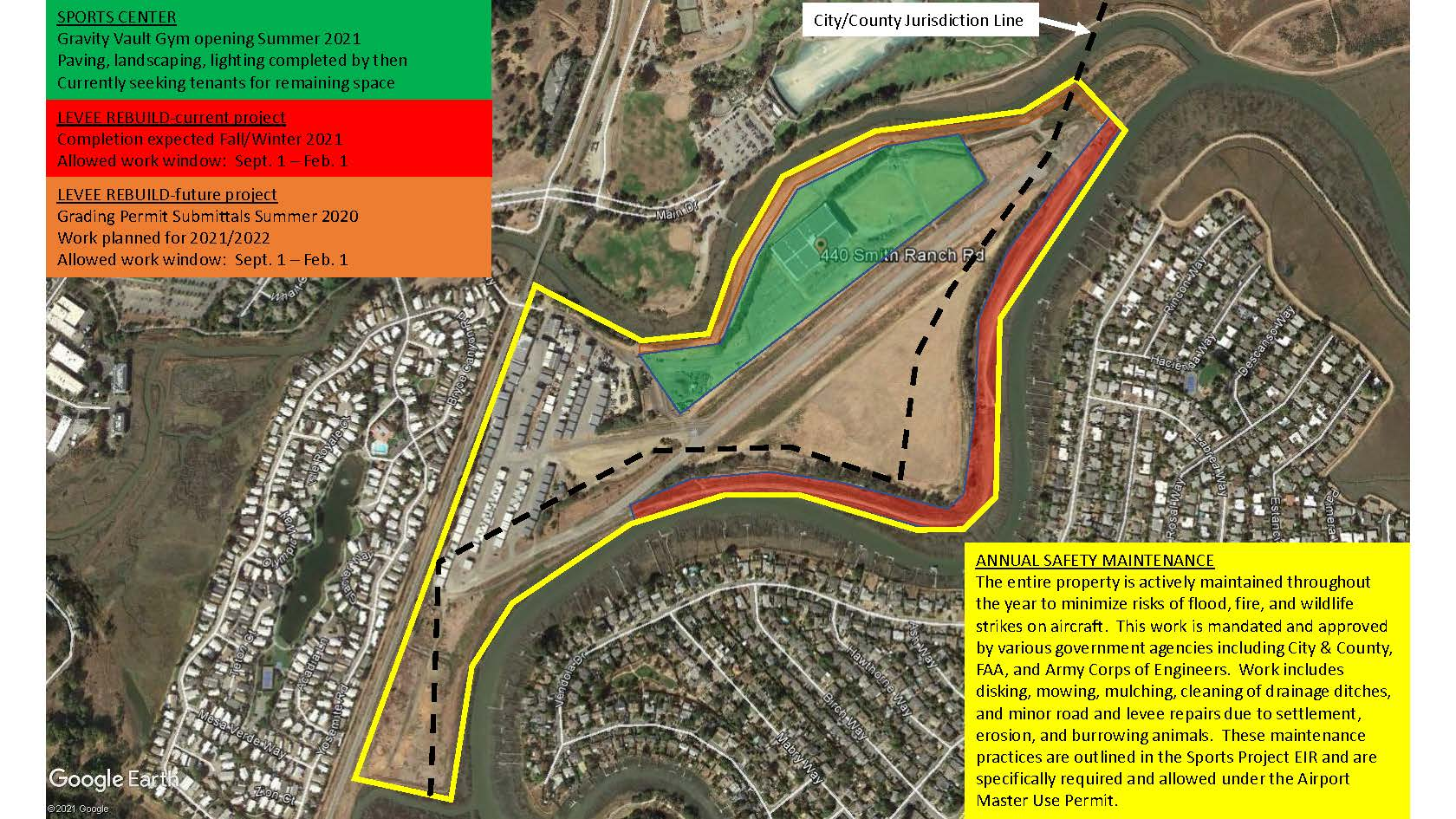 Airport Construction & Maintenance Map