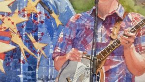 Banjo Man by Judy Rowe