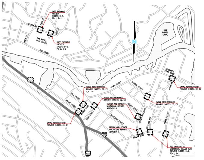 Canal Neighborhood Pedestrian Safety Improvements Project