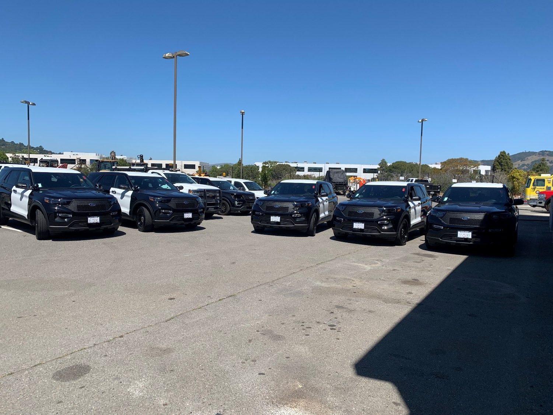 Hybrid patrol cars