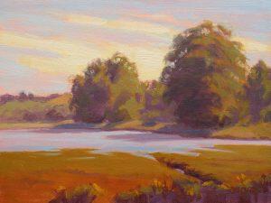 "Painting ""High Tide Bolinas Lagoon"""
