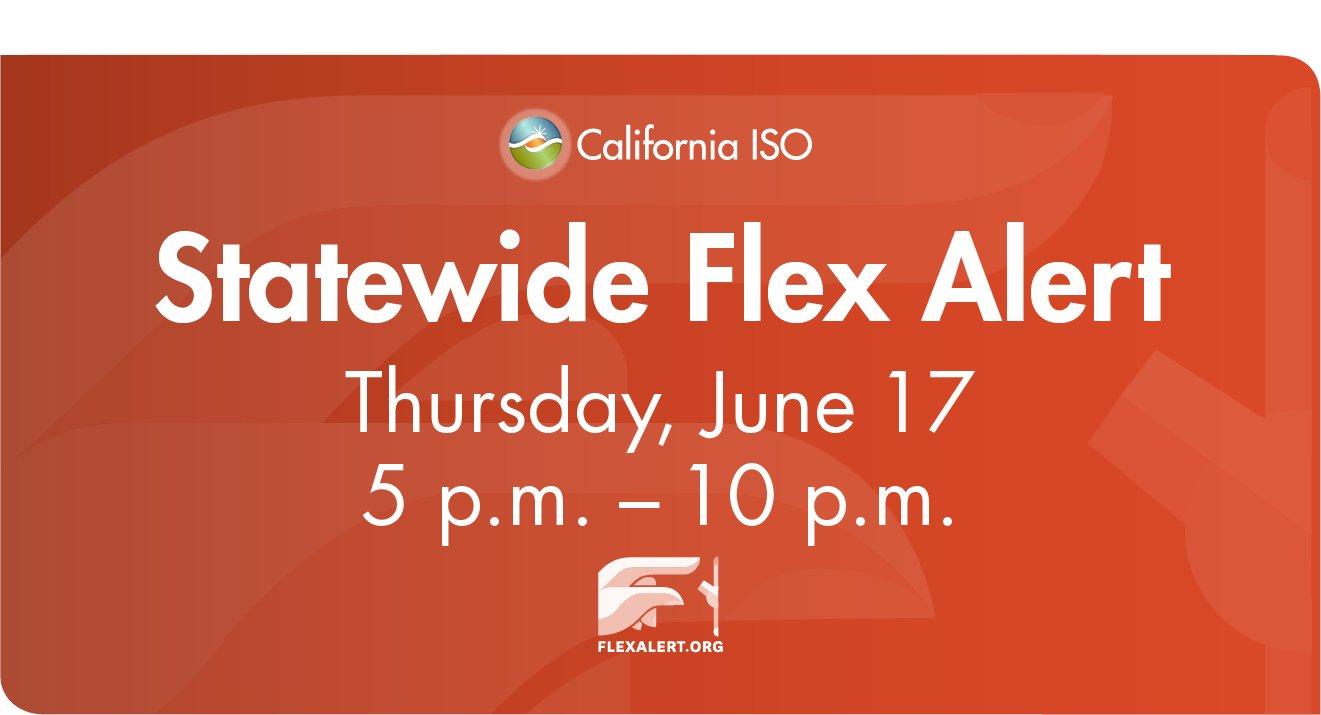 Flex Alert 06.17.2021