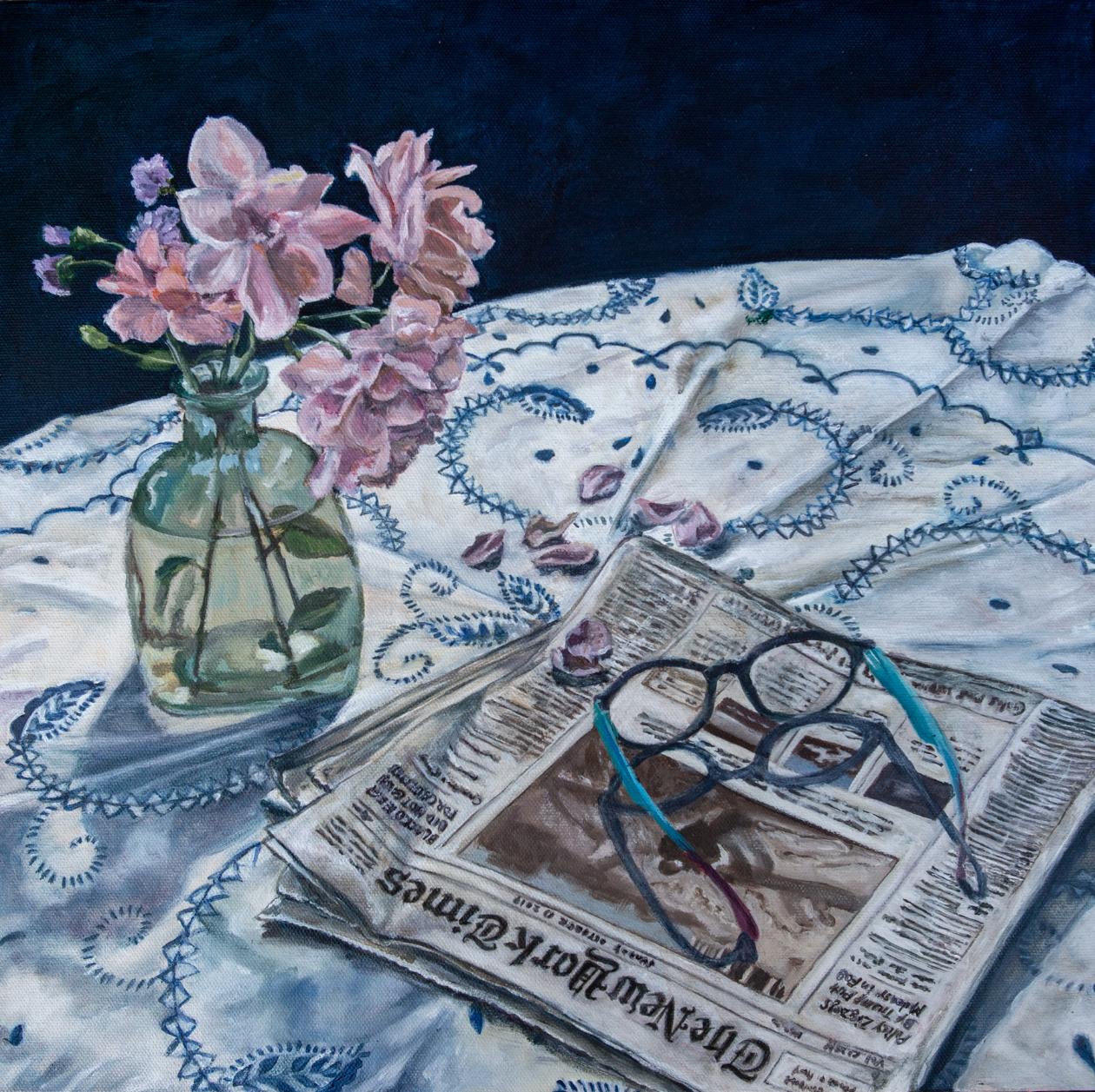 Jennifer Lipson Acrylic Painting