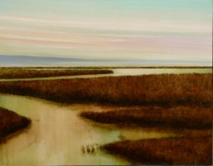 "James Marc ""Wetlands"" Oil"