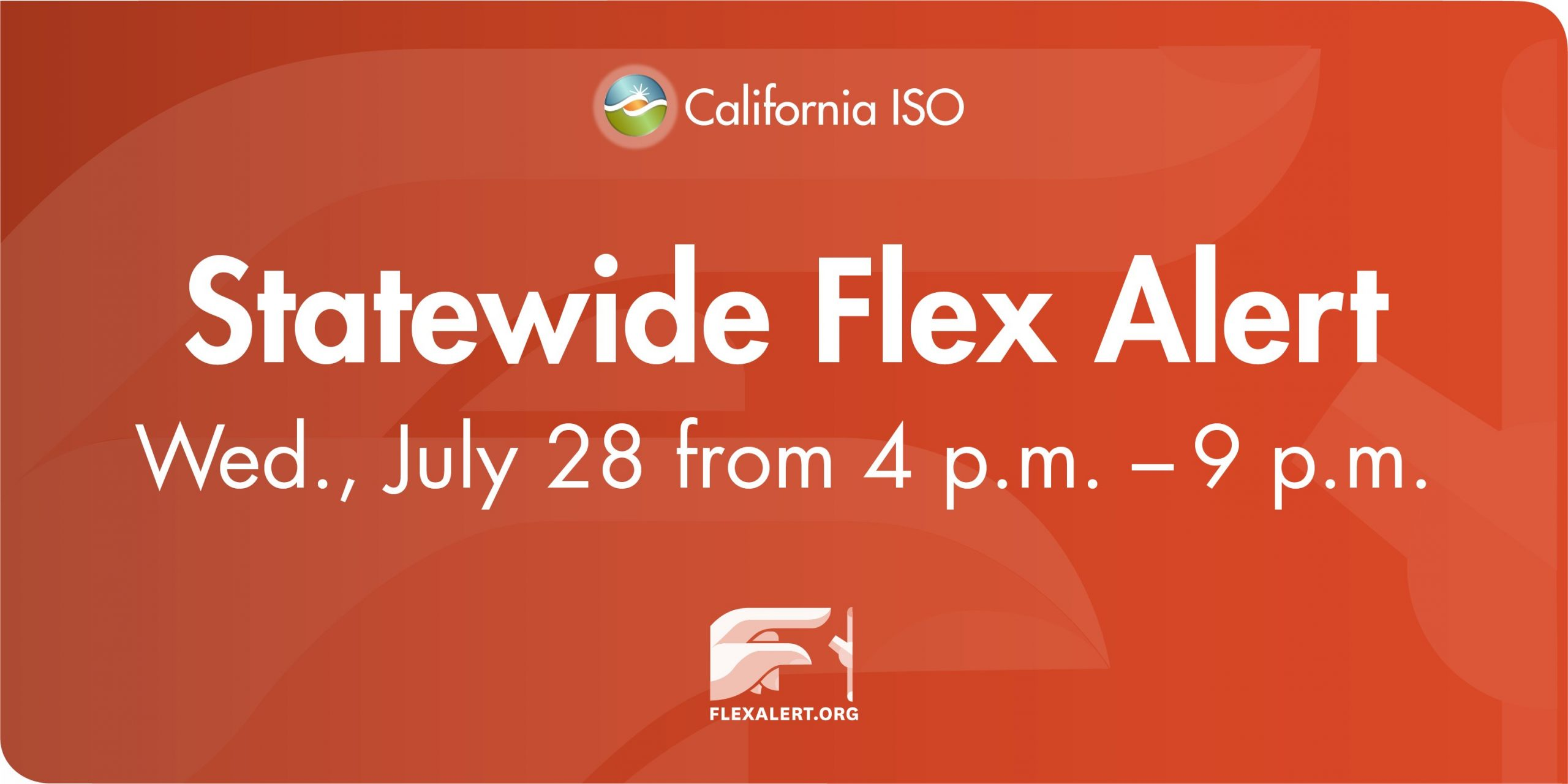 Flex Alert 07-28