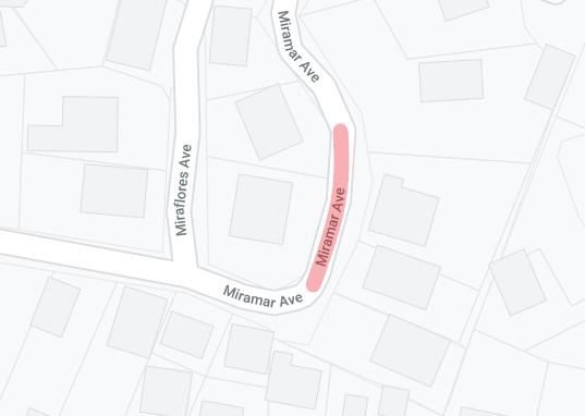 120 miramar ave road closure pge