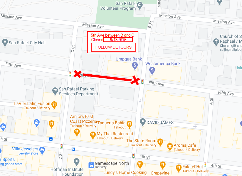 AC Hotel - Street Closure Notification