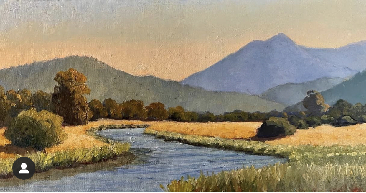 Gallinas Creek Oil on Canvas