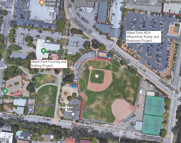 Albert Park Improvement Projects