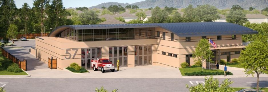 Rendering of Fire Station 57