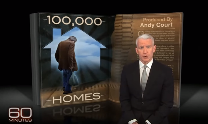 100,000 Homes on 60 Minutes