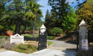 Boyd Memorial Park Entrance