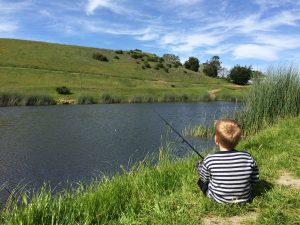 Fishin, photo taken by Barrett Schaefer
