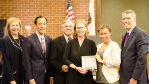 Platinum public engagement award from the Davenport Institute
