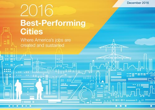 Milken Best Performing Cities Index