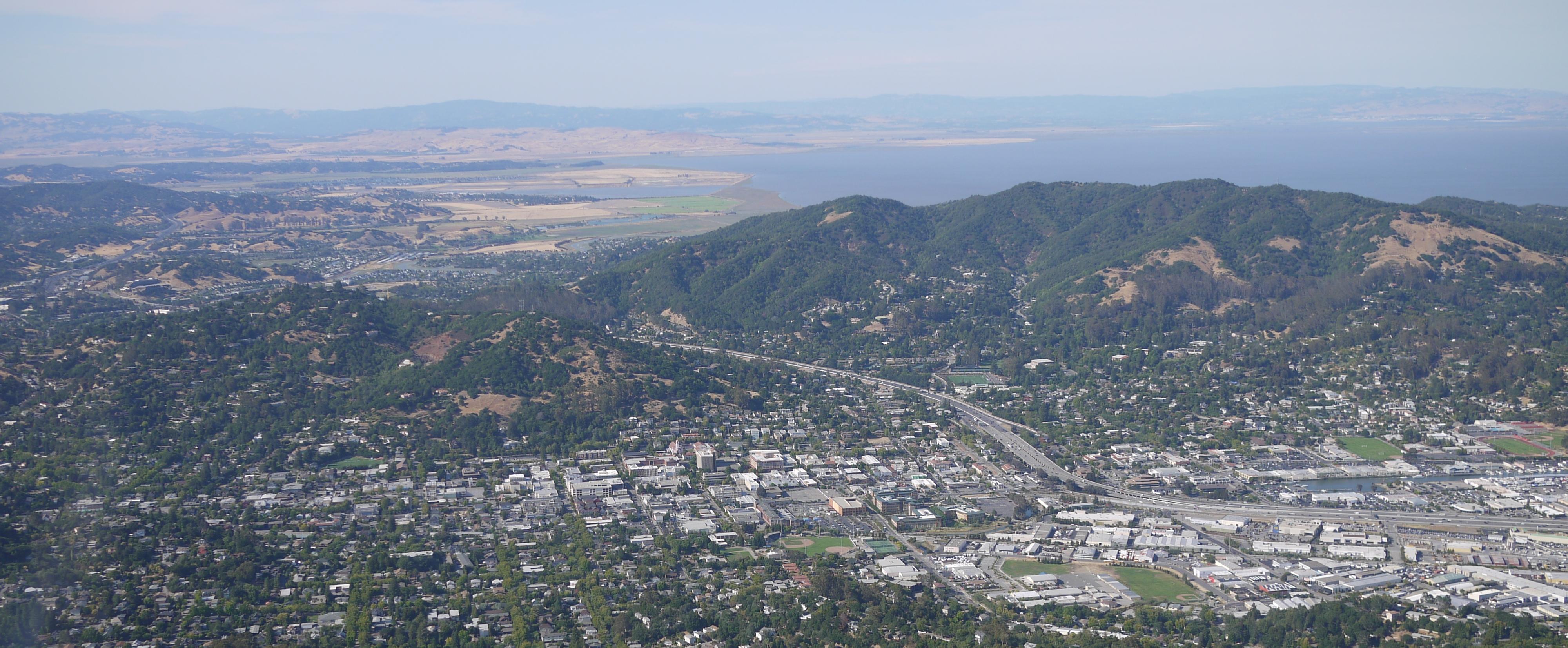Aerial of San Rafael