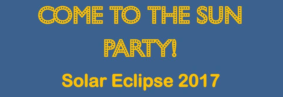 solar eclipse flier